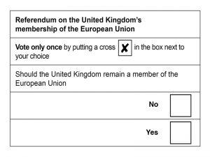 Alternative polling card