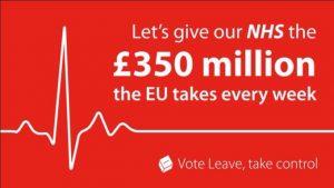 Vote leave slogan